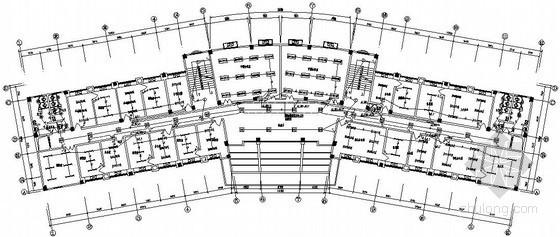 五层办公大楼电气施工图纸