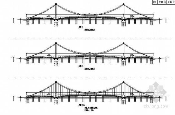 78+180+78m自锚式悬索桥施工顺序节点详图设计