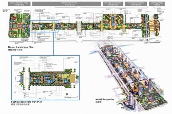 [南京]新城道路初步景观概念设计方案