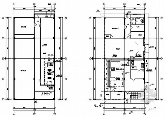 [海南]某航空公司基地燃油锅炉房施工图