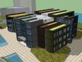 书形图书馆SketchUp模型下载