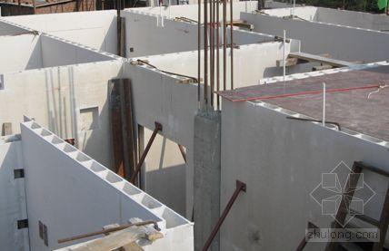 石膏空心墙体试点工程施工总结报告