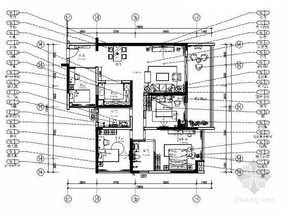 [广东]简约四室两厅室内装修图(含实景)