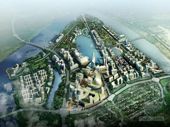 [浙江]地标性商业休闲滨水活动区景观规划设计方案(知名设计公司)