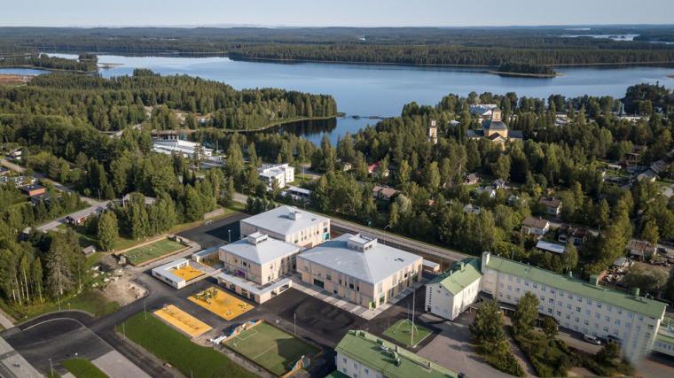 芬兰Kuhmo木材学校-2