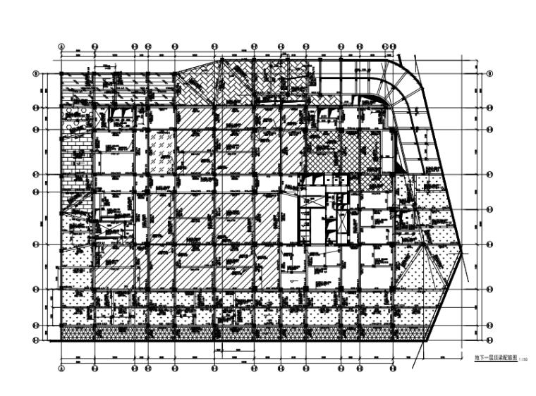 [甘肃]18层框筒结构五星级酒店结构施工图(CAD、51张)