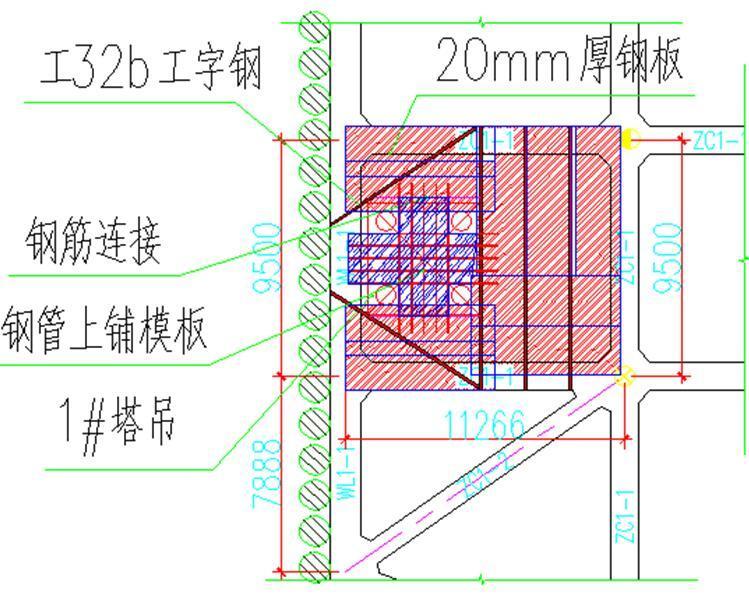 [天津]双子塔项目塔吊基础机械破除施工方案
