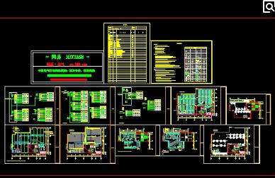 电气施工组织设计系统概述