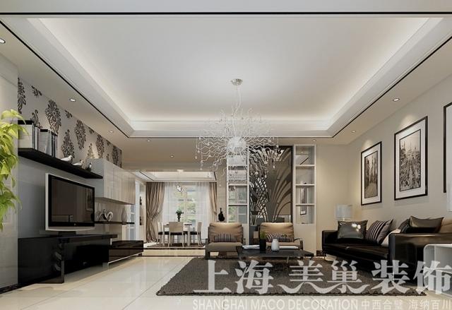联盟新城180平方四室两厅现代简约装修效果图