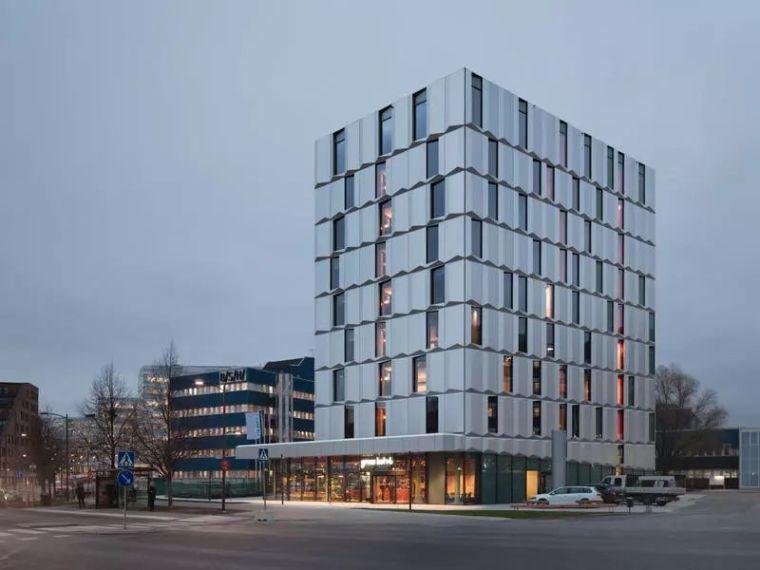 12个格子外立面建筑设计案例分享~