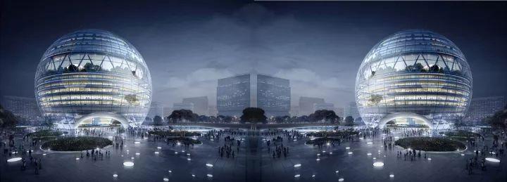 可能在不久的将来,你会看见一个球形的万达广场_14