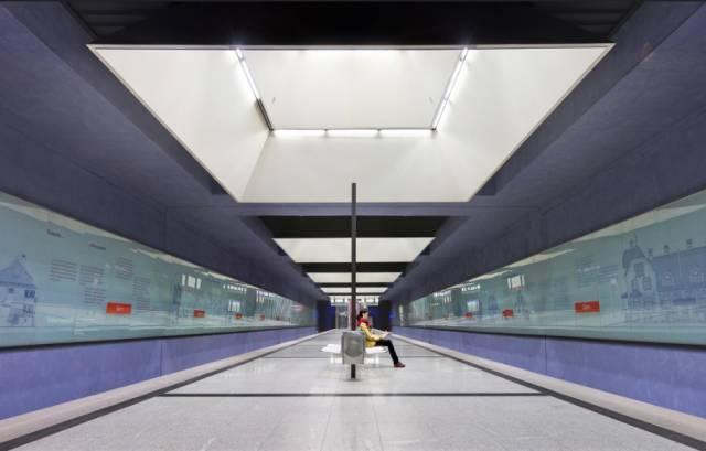 世界最美地铁景观,美到让你不想回家_15