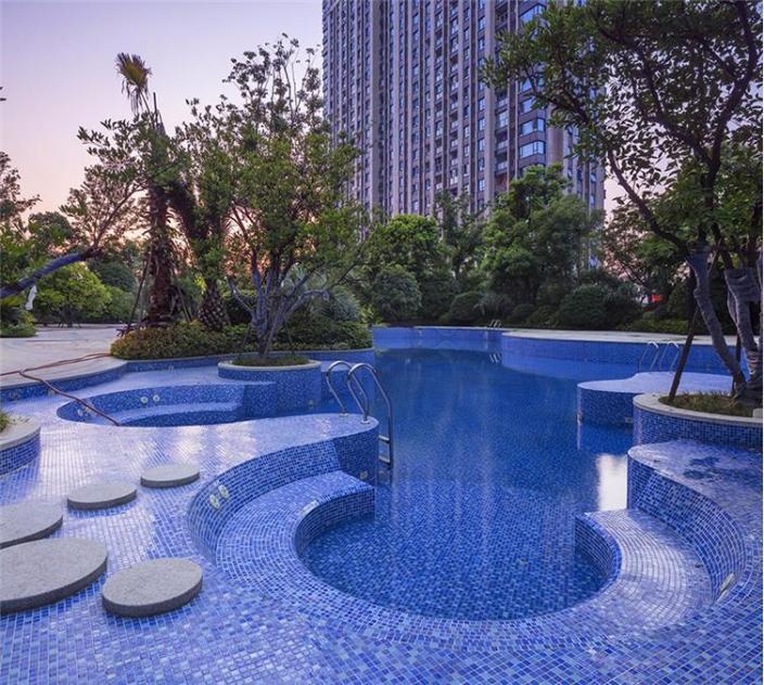 杭州融创瑷颐湾住宅景观的实景图 (20)