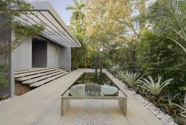 赶紧收藏!21个最美现代风格庭院设计案例_104