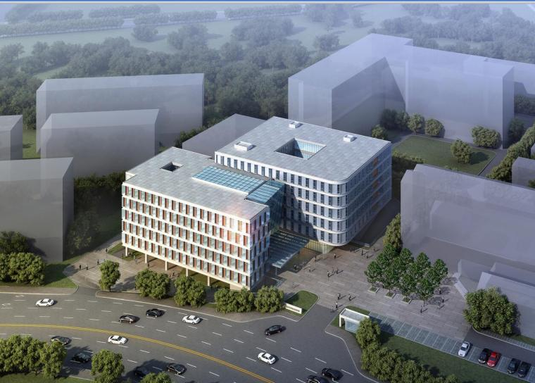 中国医学科学院皮肤病医院门诊综合楼方案设计文本(含CAD+JPG)