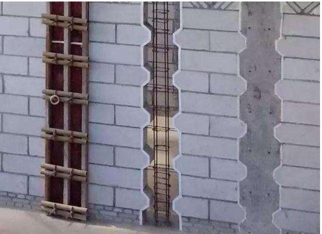 构造柱、圈梁无架眼模板支设新工艺