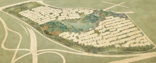 绿城在山水之间建了一座生活美学馆,是人人都向往的桃花源