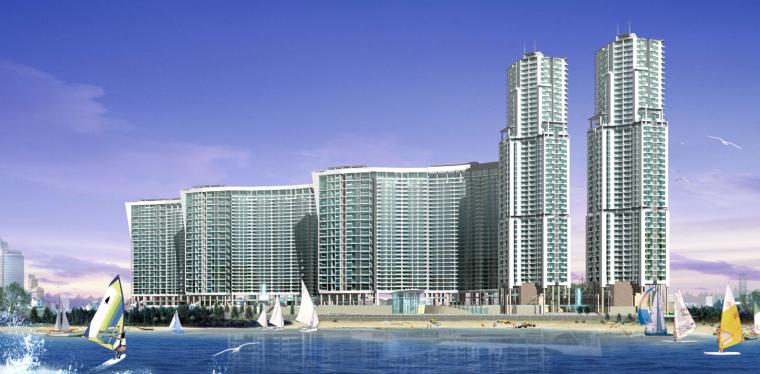 [上海]超高层塔式万科海景区住宅(含会所、商业、幼儿园)