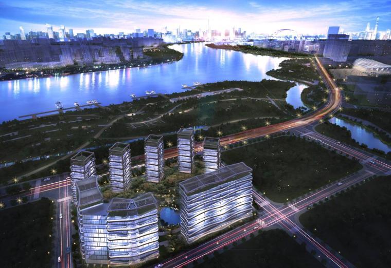 [上海]轻奢豪宅居住区建筑方案文本(JPG+78页)