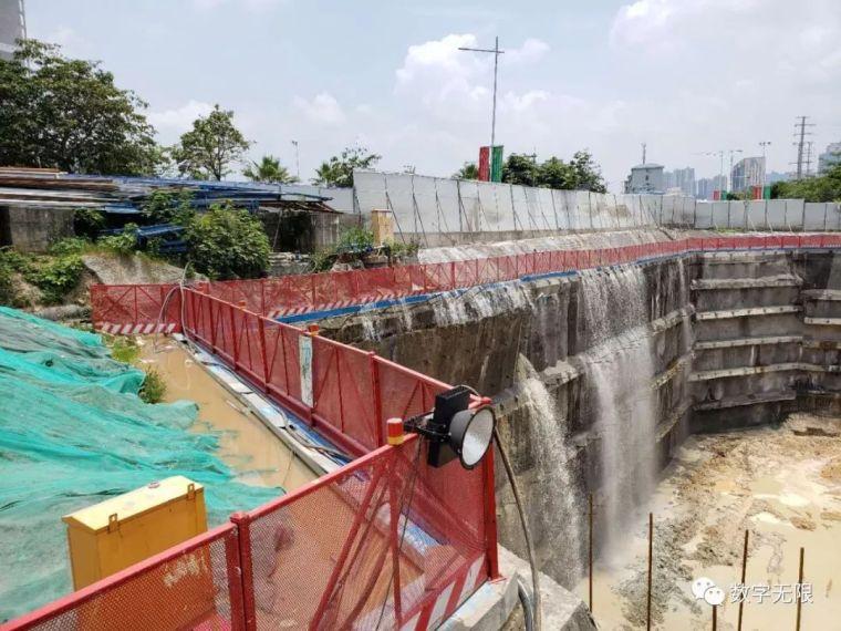 南宁绿地中央广场房地产项目D号地块(二期)基坑险情报告