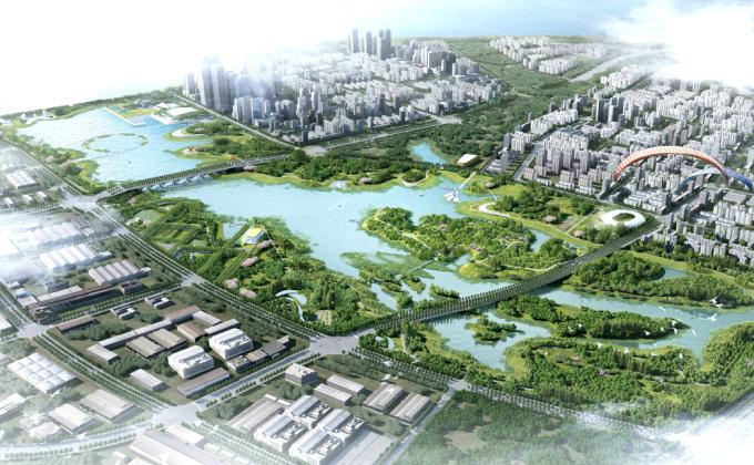 [江西]滨湖山地生态城市综合公园景观设计方案(2016 ASLA获奖作品)