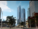 荆门市中央商务区概念性空间规划研究(华中科大)