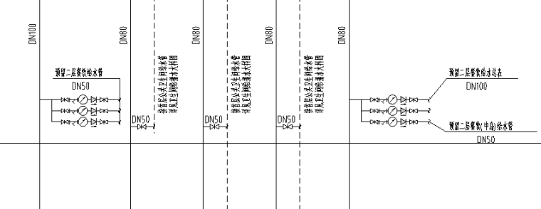某市场给排水平面图_3