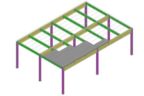 浙江大学课程设计-钢结构平台设计