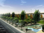 [江苏]某高速公路西出入口景观规划方案设计