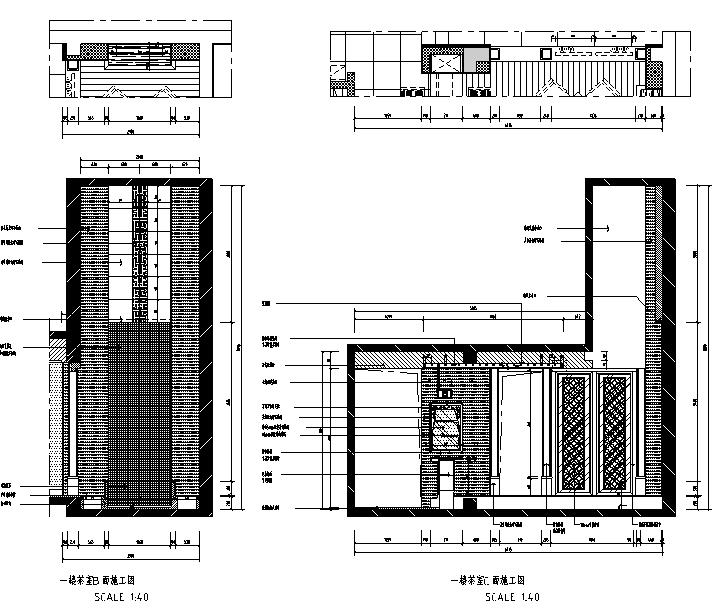 【江苏】中式风格别墅设计施工图(效果图+pdf图纸)_2