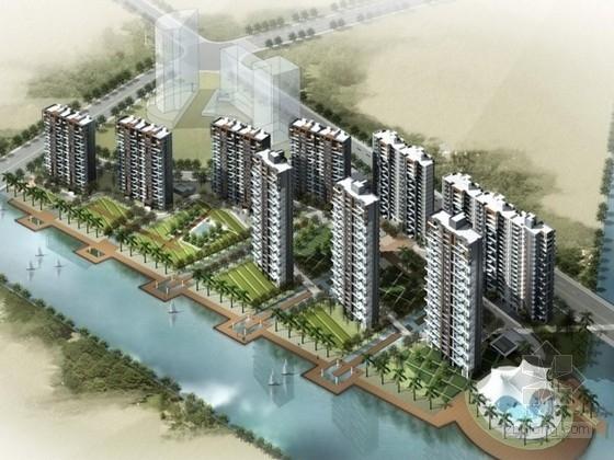 [宁波]某住宅区规划及单体设计方案文本