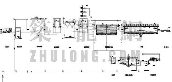 UASB毕业设计图资料下载-[本科]榆林市天元淀粉厂废水处理站工程