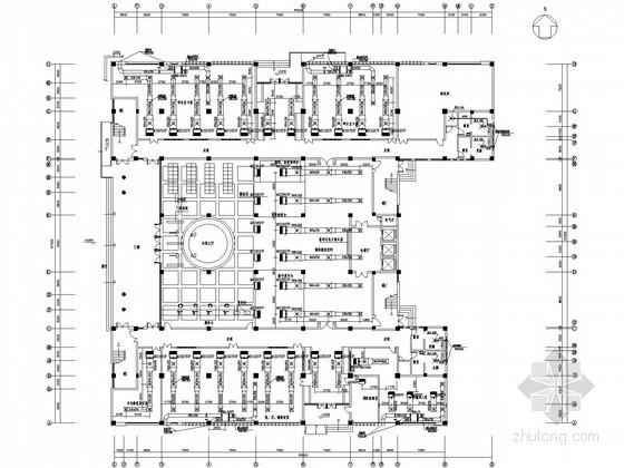 vrv空调系统资料下载-[长沙]大学图书馆VRV空调系统设计施工图