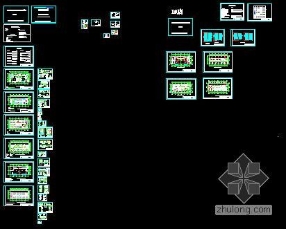 2010年内蒙古4S店室内装饰工程预算书(附平面图)