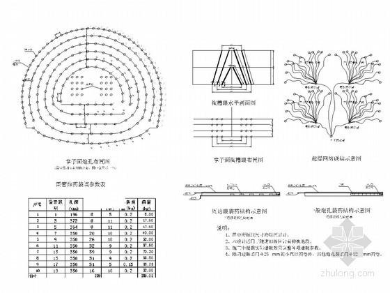 [贵州]铁路隧道钻爆设计图