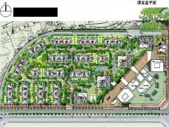 [重庆]简洁大气高层住宅小区景观规划详细设计方案(170页精美图纸)