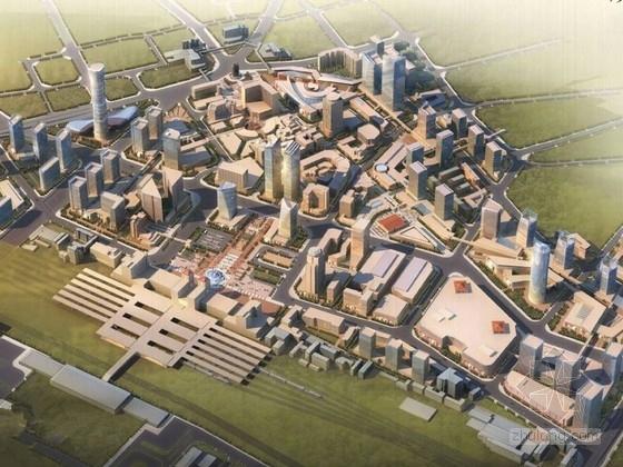 [河南]现代风格城市规划设计方案文本(近百张设计图)