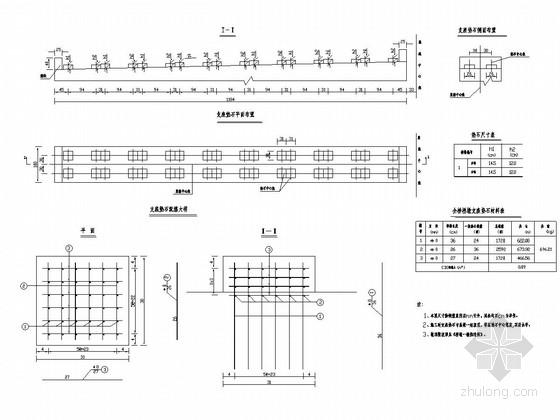 2×10m预应力混凝土简支空心板桥桥墩设计(含支座)