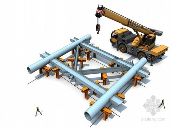[江苏]建筑挡风抑尘墙工程钢结构安装专项方案