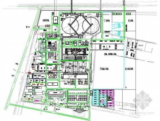 [江苏]电厂机组厂房施工组织设计(附施工进度计划及平面布置图)