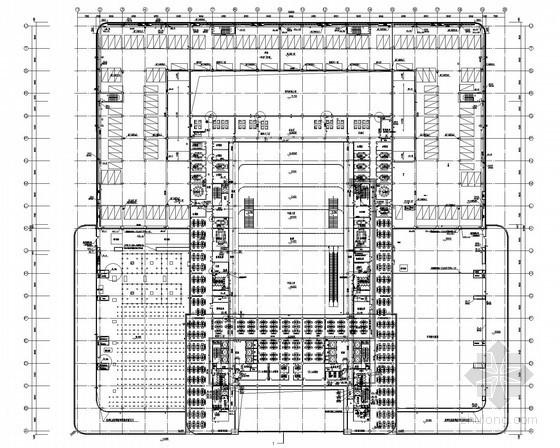 大型汽车中心给排水全套图纸(能型灭火系统、直饮水系统、循环水系统)
