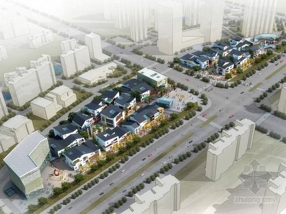 [安徽]新中式风格特色商业步行街设计方案文本
