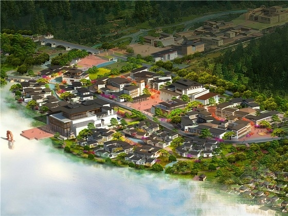 [西藏]五星级奢华中式度假酒店规划及单体设计方案文本(知名地产154页)