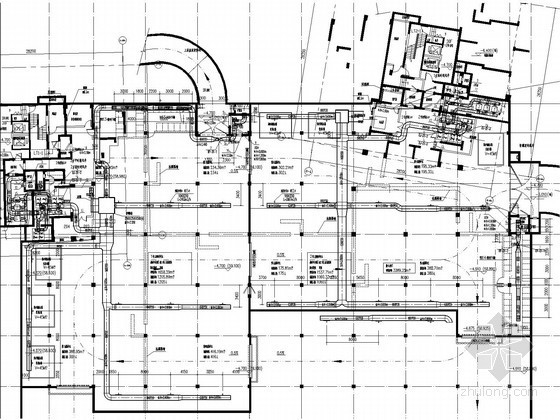 [广东]住宅小区人防地下室通风防排烟系统设计施工图(三种通风方式)