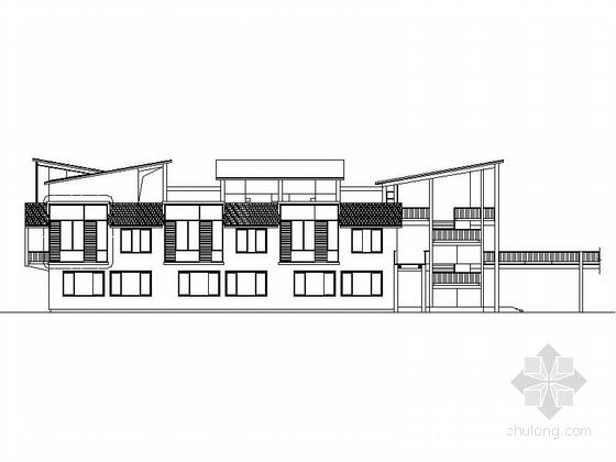 [浙江]3层现代风格教学楼建筑方案图