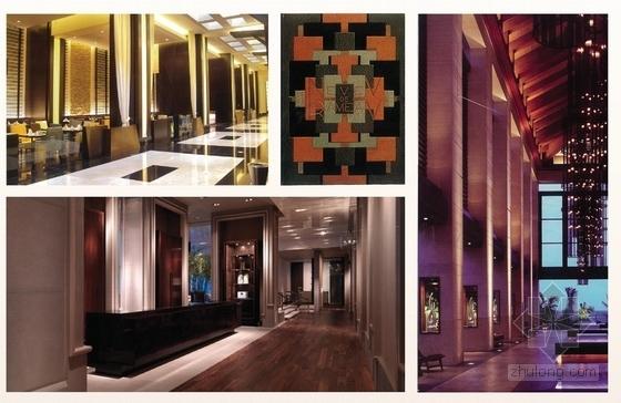 [上海]精品奢华雅致古典风格宾馆室内装饰设计方案-[上海]奢华雅致古典风格宾馆室内装饰设计方案大堂酒廊意向图