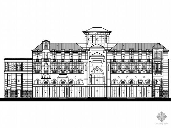 [长沙市望城县]某科技产业园四层会所建筑施工图