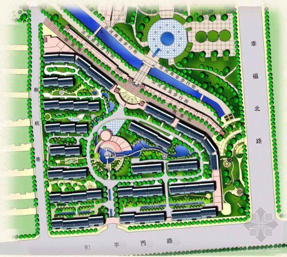 江苏连云港某县住宅小区规划设计方案