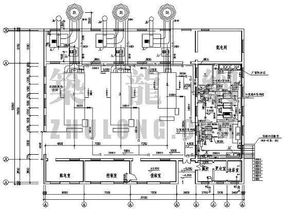 某小区锅炉房热力设计图