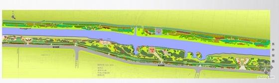 江苏徐州某滨河公园设计方案
